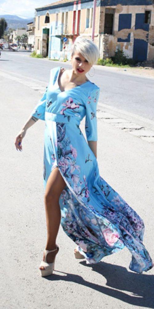 Φόρεμα Μακρύ Άλφα