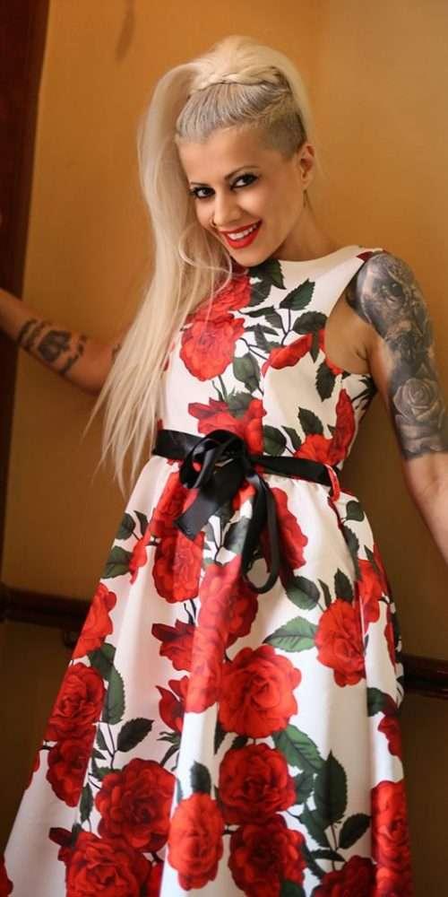 Floral Φόρεμα Maxi