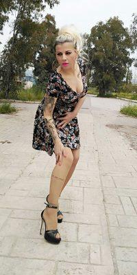 Κοντό Φόρεμα Εμπριμέ