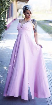 Ροζ Φόρεμα