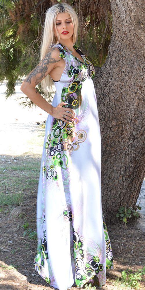 Φόρεμα Φλοράλ Μακρύ
