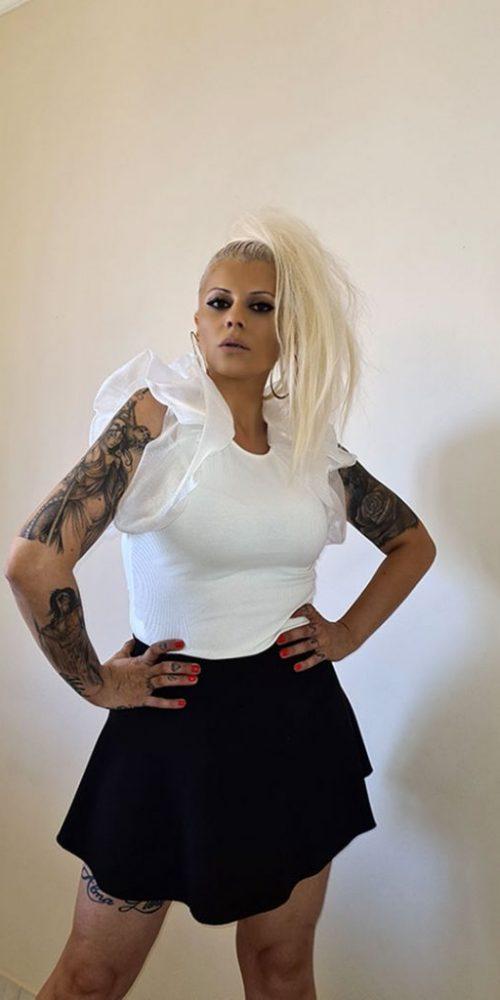 Γυναικεία Μπλούζα Με Φουσκωτά Μανίκια