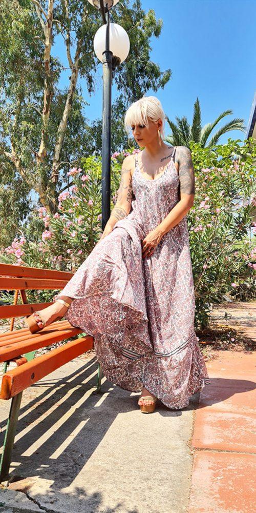 Φόρεμα Μακρύ καθημερινό αέρινο