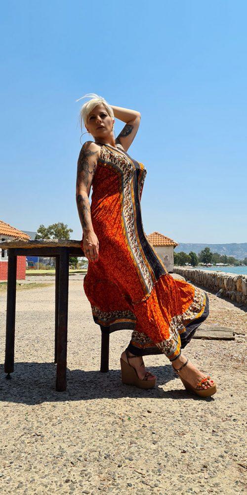 Φόρεμα Boho Floral