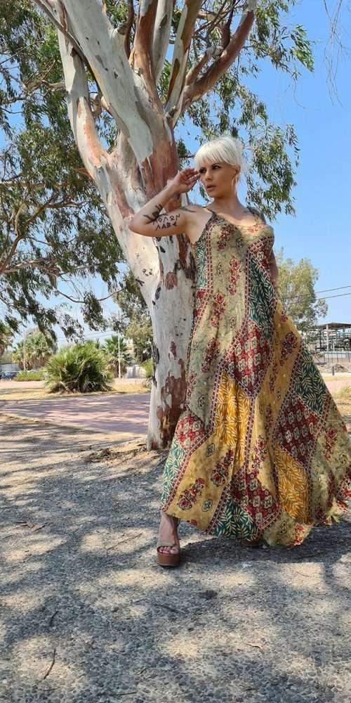 Maxi Φόρεμα Boho