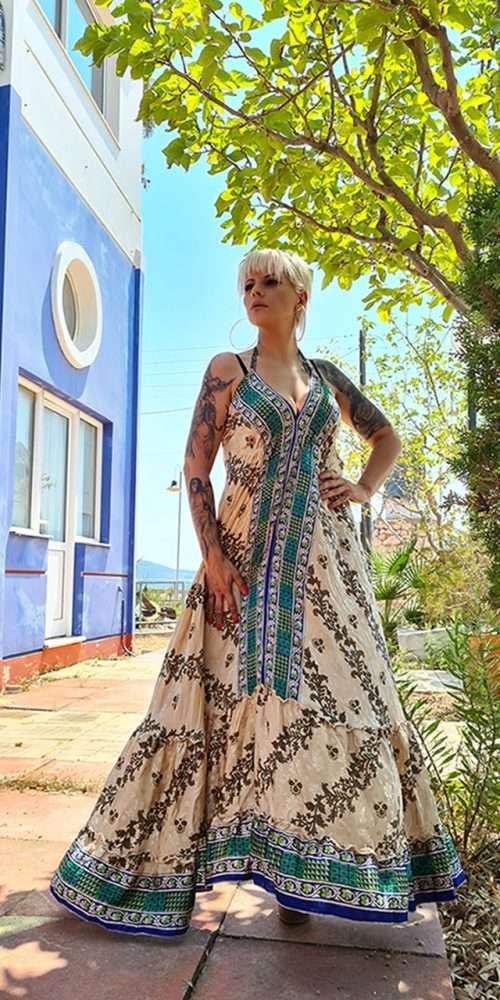Maxi Φόρεμα Boho Floral