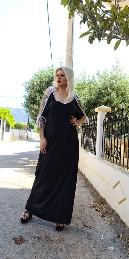 Μακρύ Φόρεμα Μαύρο